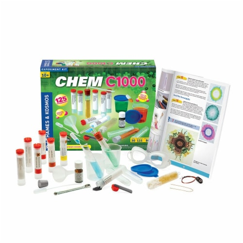 Thames & Kosmos CHEM C1000 -V 2.0 Chemistry Experiments Perspective: front