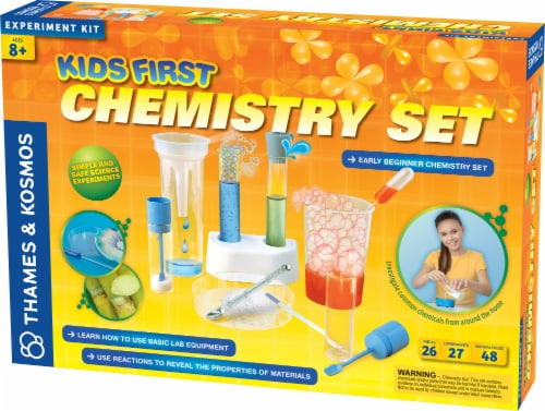 Thames & Kosmos Kids First Chemistry Set Perspective: front