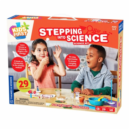 Thames & Kosmos Science Kit - Stepping into Science Perspective: front