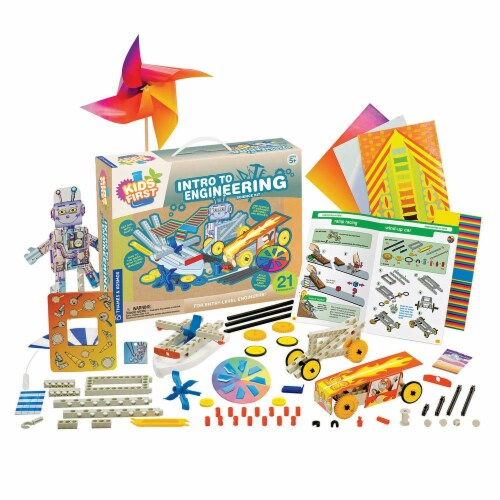 Thames & Kosmos 567002 Science Kit - Intro to Engineering Perspective: front