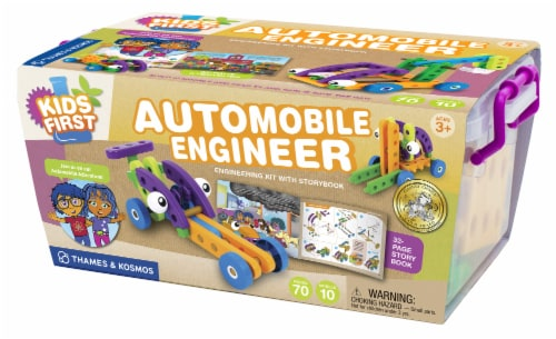 Thames & Kosmos Kids First Automobile Engineer Kit Perspective: front