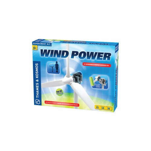 Thames & Kosmos Experiment Kit - Wind Power V3 Perspective: front