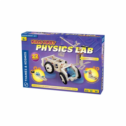 Thames & Kosmos Experiment Kit - Kids First Physics Lab Perspective: front