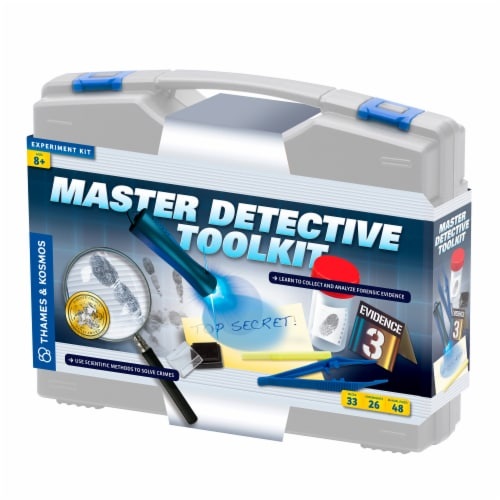 Thames & Kosmos Master Detective Toolkit Perspective: front
