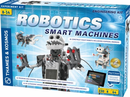 Thames & Kosmos Experiment Kit - Robotics Smart Machines Perspective: front