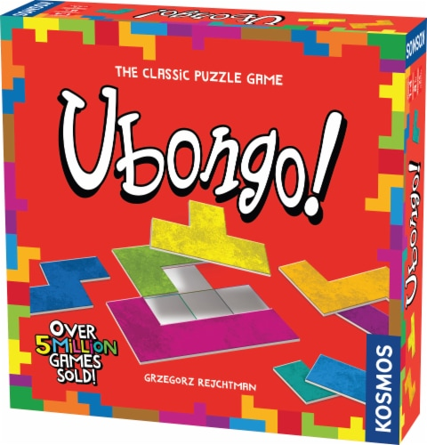 Thames & Kosmos Ubongo Puzzle Game Perspective: front