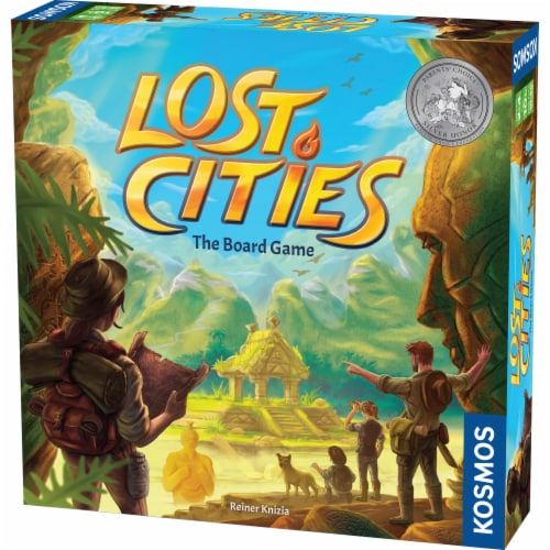 Thames & Kosmos Lost Cities The Board Game Perspective: front