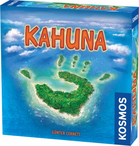 Thames & Kosmos Kahuna Board Game Perspective: front