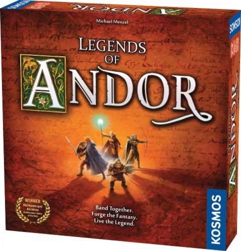 Thames & Kosmos Legends of Andor Board Game Perspective: front