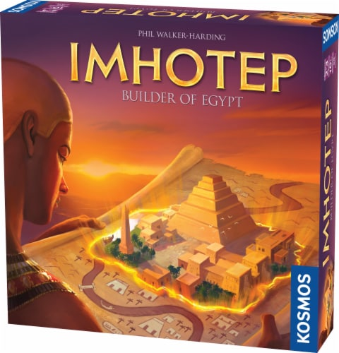 Thames & Kosmos Imhotep Board Game Perspective: front