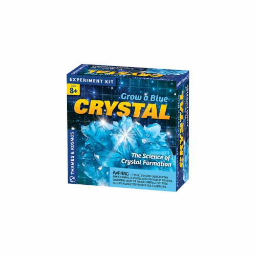 Thames & Kosmos Experiment Kit - Grow a Blue Crystal Perspective: front