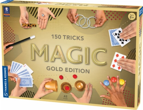 Thames & Kosmos Gold Edition Magic Set Perspective: front