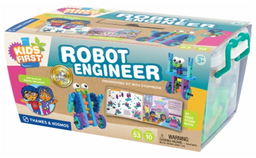 Thames & Kosmos Robot Engineer Science Kit Perspective: front