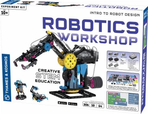 Thames & Kosmos Robotics Workshop Kit Perspective: front