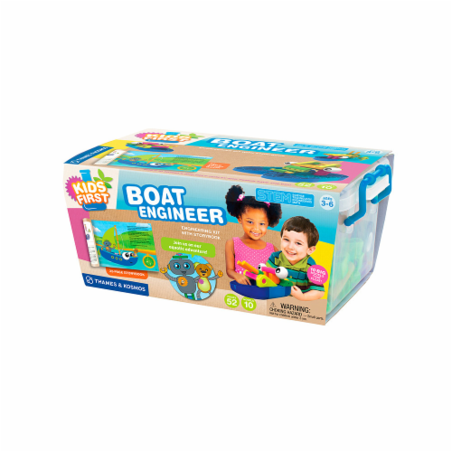 Thames & Kosmos 567011 Boat Engineer - Kit with Story Book Perspective: front