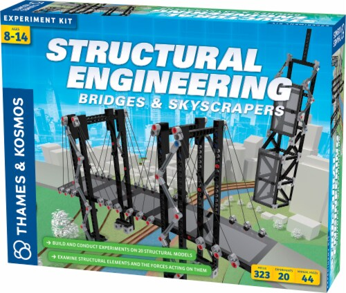 Thames & Kosmos Structural Engineering Bridges & Skyscrapers Kit Perspective: front