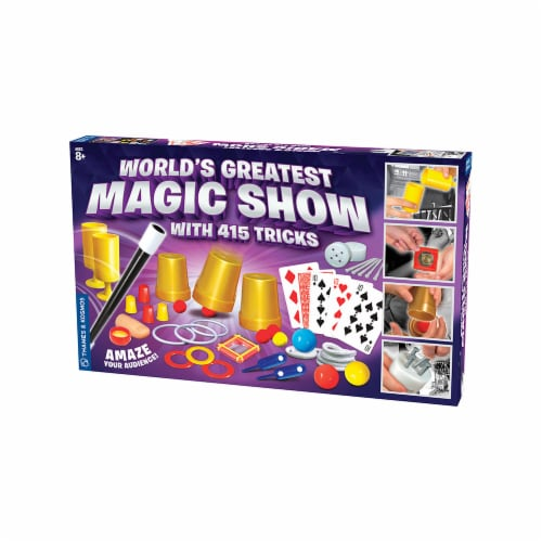 Thames & Kosmos Worlds Greatest Magic Show with 415 Tricks Perspective: front