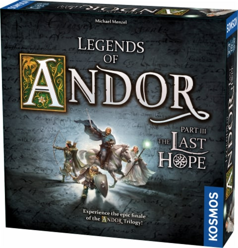 Legends of Andor: Part III The Last Hope Board Game Perspective: front