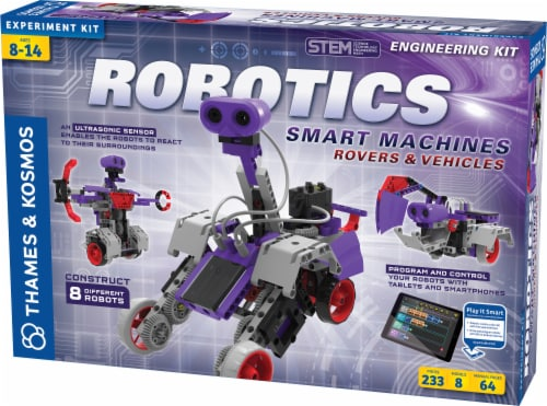 Thames & Kosmos Robotics Smart Machines Rovers & Vehicles Kit Perspective: front