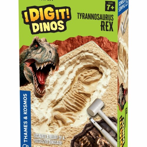 Thames & Kosmos I Dig It Dinos T. Rex Excavation Kit Perspective: front