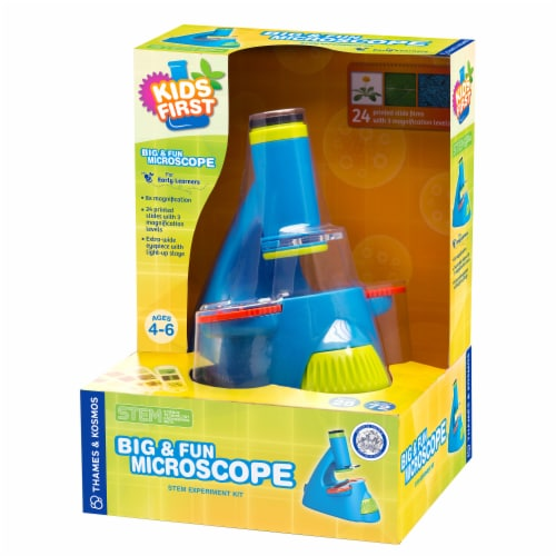 Thames & Kosmos Big & Fun Microscope Kit Perspective: front