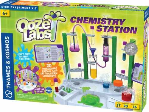 Thames & Kosmos Ooze Labs Chemistry Station Perspective: front