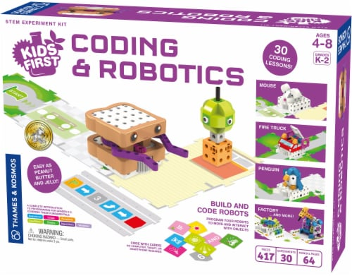 Thames & Kosmos Kids First Coding & Robotics Kit Perspective: front