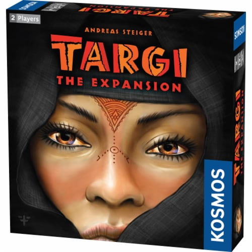 Thames & Kosmos Targi Board Game Expansion Perspective: front
