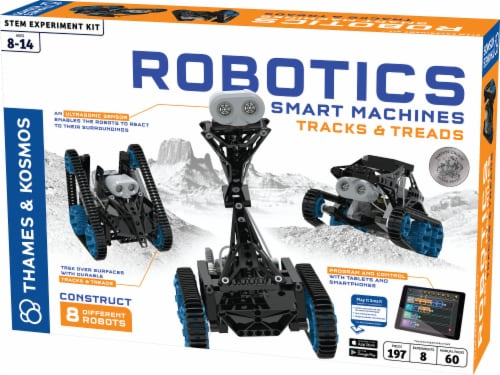 Thames & Kosmos Robotics Smart Machines Tracks & Treads Kit Perspective: front