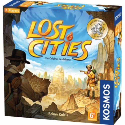 Thames & Kosmos Lost Cities Sixth Edition Card Game Perspective: front