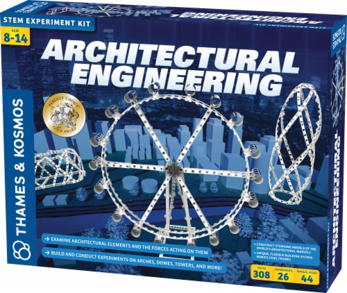 Thames & Kosmos Architectural Engineering Kit Perspective: front