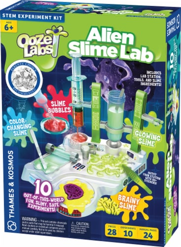 Thames & Kosmos Ooze Labs: Alien Slime Lab Perspective: front