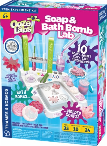 Thames & Kosmos Ooze Labs Soap and Bath Bomb Lab Perspective: front