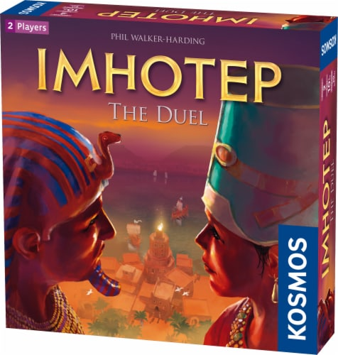 Thames & Kosmos Imhotep: The Duel Board Game Perspective: front