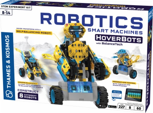 Thames & Kosmos Robotics Smart Machines HoverBots Kit Perspective: front