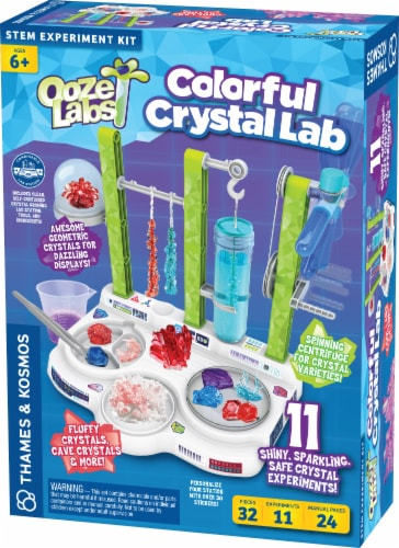 Thames & Kosmos Ooze Labs Colorful Crystal Lab Perspective: front