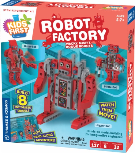 Thames & Kosmos Kids First Robot Factory Kit Perspective: front