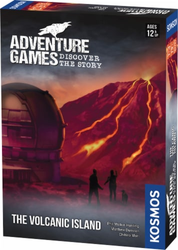 Thames & Kosmos Adventure Games: The Volcanic Island Board Game Perspective: front