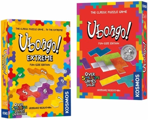 Thames & Kosmos Ubongo Games Travel Bundle Perspective: front