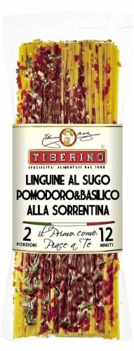 Tiberino Tomato Basil Sorrento Linguni Perspective: front