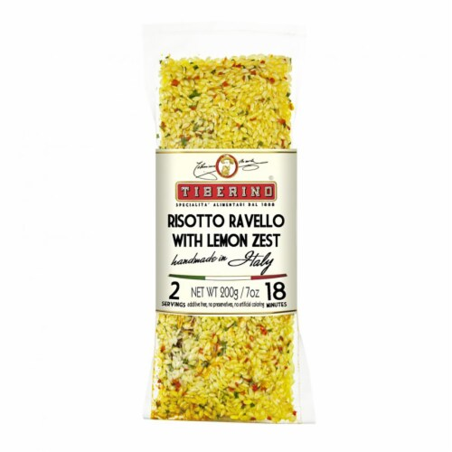 Tiberino Risotto Ravello With Lemon Zest Perspective: front