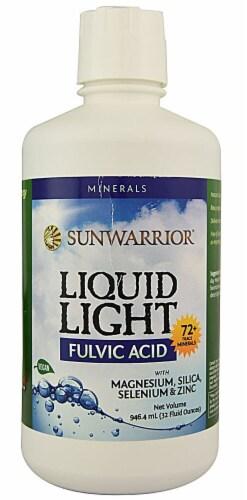 Sunwarrior  Liquid Light Fulvic Acid Perspective: front