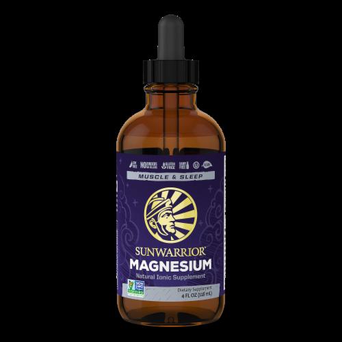 Sunwarrior Liquid Magnesium Perspective: front