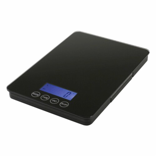 American Weigh Scales DK-5K 5-1 kg x 1-0.1 g Dual Kitchen Scale Perspective: front