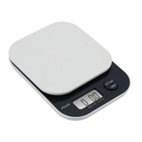 American Weigh Scales Vanilla5KG Vanilla 5K Kitchen Scale, White Perspective: front