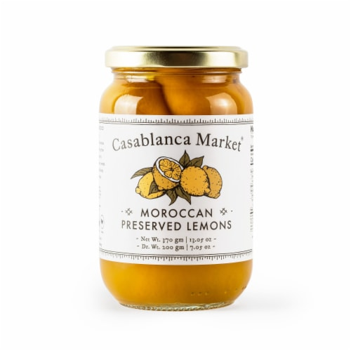 Casablanca Moroccan Preserved Lemons Perspective: front