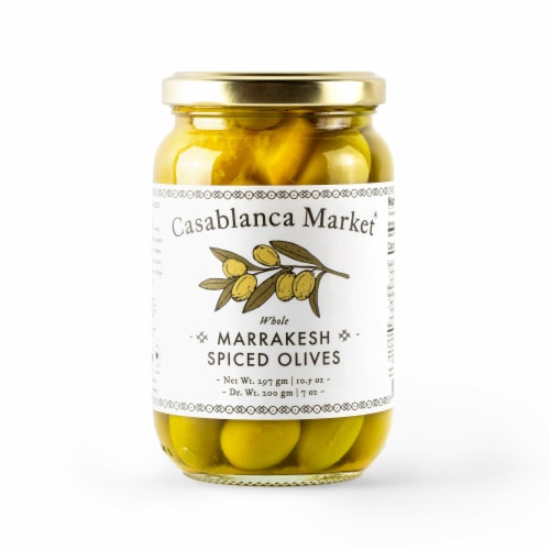 Casablanc market Whole Marrakesh Spiced Olives Perspective: front