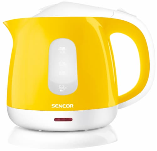 Sencor Small Electric Kettle - Yellow Perspective: front