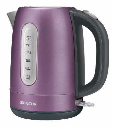 Sencor Stainless Electric Kettle - Violet Perspective: front