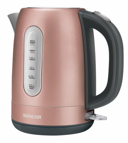 Sencor Stainless Electric Kettle - Pink Perspective: front